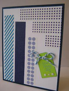 Handmade Card with Washi Tape