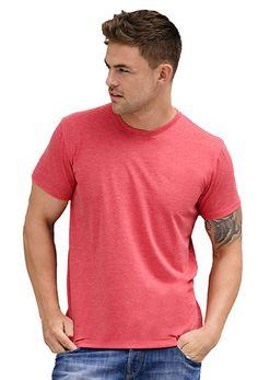 Heren t-shirt met ronde hals en korte mouwen    - 65% polyester en 35% ringgesponnen gekamd katoen  - grammage: 155 g/m12 (wit), 160 g/m2 (kleur)  - geschikt voor sublimatieprint  - ook verkrijgbaar in een dames en kinder model   - verwijderbaar neklabel  - single jersey  - slim fit