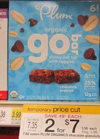 RARE $1/1 Plum Organics Bars printable coupon (matches Target price cut!) - http://www.couponaholic.net/2014/04/rare-11-plum-organics-bars-printable-coupon-matches-target-price-cut/
