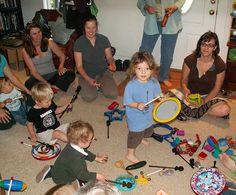 Mini Music Birthday Party