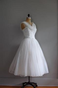 Bing : vintage 50's wedding dresses