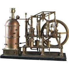 Scale Model Ships' Walking Beam Steam Engine