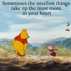 Any day with Winnie the Pooh is a good day...