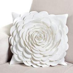 diy flower pillows