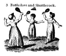 Badminton can be traced to the mid-1800 in India,& was created by British military officers  Photos show adding a net to the traditional English game of battledore and shuttlecock. The sport is related to ball badminton, from Tamil Nadu, and is similar to Hanetsuki from Japan. Popular in the town Poona (now Pune), the game was also  known as Poona. Balls of wool called ball badminton were preferred in windy or wet conditions, but ultimately the shuttlecock stuck.