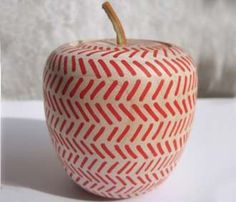 Wooden Apple Box by Miss Natalie // wabi-sabi raw design