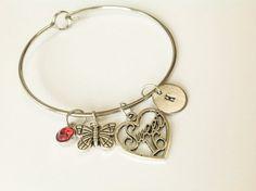 Sweet sixteen bracelet sweet sixteen jewelry sweet by Stamptations#16birthdaygift