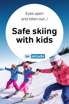 """As the title already suggests and as will be clear to anyone who is still familiar with the good old """"Helmi"""" (a TV show for kids in Austria), today's blog is about safety on the slopes and using your senses to recognise possible sources of danger and then to react in the right manner promptly. Family Ski, Kids Skis, Ski Season, Good Old, Skiing, Tv Shows, Eyes, Austria, Blog"""
