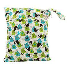 Baby Diaper Bags Printed Double Zippered Waterproof