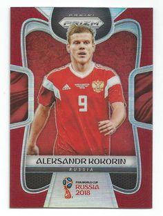 Panini World Cup 2018 Adrenalyn XL - Aleksandr Kokorin Russia Game Changer Football Cards, Baseball Cards, World Cup 2018, Game Changer, Russia, Soccer, Sports, Red, Ebay