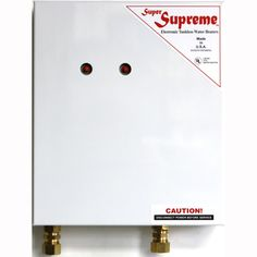 Super Supreme 12 Kw Electric Tankless Water Heater   Overstock.com