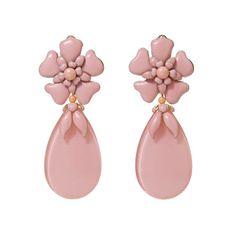 Delicate Aya pink earrings!