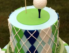 "Golf / Birthday ""Gage is FORE...and a half!"" 