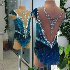 Rhythmic Gymnastics Costumes, Gymnastics Suits, Girls Dance Costumes, Dance Outfits, Jazz Costumes, Figure Skating Outfits, Figure Skating Dresses, Ballroom Dance Dresses, Shows