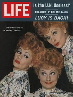 January 5, 1962 LIFE Magazine - Lucille Ball