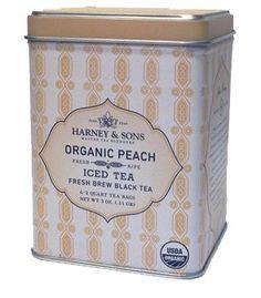 Harney & Sons Fine Teas Organic Peach Iced Tea - 6 / Tin
