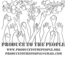 """""""PRODUCE TO THE PEOPLE is a non-profit organization in San Francisco, dedicated to aiding the food security and health of our community through garden & food education, the creation of green jobs for youth, and the growth, harvest, and dispersal of organic backyard and community grown produce. We are especially focused on ensuring access to healthy food for underserved and low-income members of our community, and green jobs to youth with barriers to employment."""""""