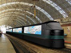 Aurora – informative train of the future