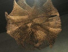 Crochet Art Ruth Asawa- De Young Museum! I've seen this work and it's incredible!!!