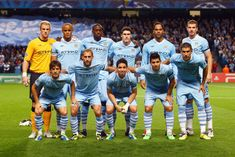 Manchester City fc squad