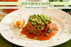 Receitas Kur Sabor e Saúde: Risotto de quinoa e frango   CAROL BUFFARA
