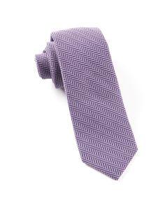 WOOL HERRINGBONE TIES - EGGPLANT | Ties, Bow Ties, and Pocket Squares | The Tie Bar