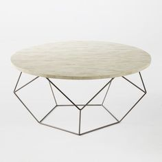 """36"""" diameter, can't go together w a round dinning table Origami Coffee Table - Large"""