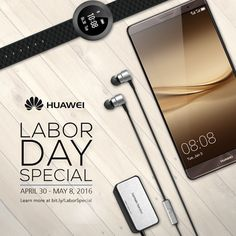 Get a Huawei Mate 8 with P12,990 worth of exclusive gifts [Promo until May 8]