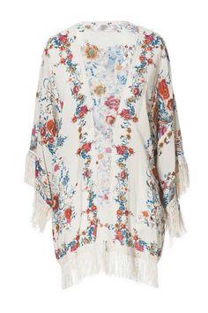 Tendencia Dress for less Kimonos: Con flecos de Trafaluc