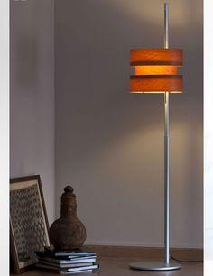 Cister Natural Wood Floor Lamp by José Antonio Coderch.