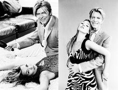 Kate Moss and David Bowie by Ellen von Unwerth