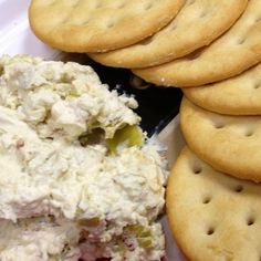 Three Cheese Pepperoncini Spread  This is my own take on a Greek Feta spread known as Kopanisti.  I love the combination and bite from the cheeses and the zing from the peppers and garlic. Add the crushed red pepper if you like it extra spicy! Enjoy!
