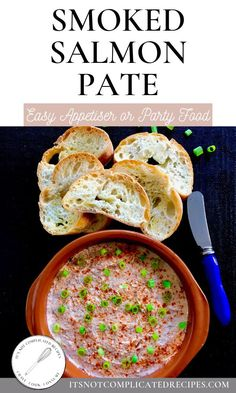 Simple and delicious, my Smoked Salmon Pate is full of flavour and couldn't be easier to make! An ideal dinner party appetiser, or lovely snack to enjoy. Pate Recipes, Fish Recipes, Seafood Recipes, Savoury Recipes, Lunch Recipes, Summer Recipes, Holiday Recipes, Recipies, Easy Appetizer Recipes