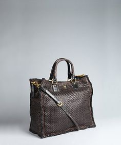 One of my most favorite Prada bags.  I want!!