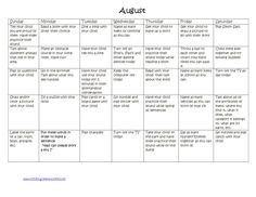 Speech and language activities during the summer!