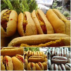 Σπιτική συνταγή για αφράτα ψωμάκια σάντουιτς ή χάμπουργκερ! | Toftiaxa.gr - Φτιάξτο μόνος σου - Κατασκευές DIY - Do it yourself Hot Dog Buns, Hot Dogs, Denim And Diamonds, Hamburger, Sandwiches, Cooking Recipes, Bread, Ethnic Recipes, Entrance Halls