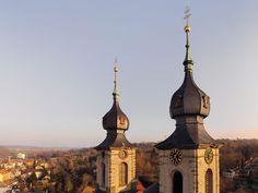Bruchsal Peterskirche Balthasar-Neumann Luftbild http://fotovideoflug.de/luftbilder-flugaufnahmen-bruchsal-heidelberg-karlsruhe/