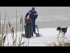 Самодельный снегоход-каракат  г Кострома - YouTube
