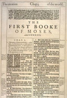 Click on the picture to read from the Original 1611 King James Translation. Today most people have the 1769 Benjamin Blayney revision of the King James version.