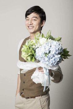 Goblin Gong Yoo, Yoo Gong, Theme Song, Korean Actors, Handsome, Flowers, Education, Onderwijs, Royal Icing Flowers