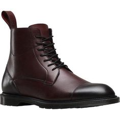Men's Dr. Martens Winchester 7 Eye Zip Boot Red Antique Temperley