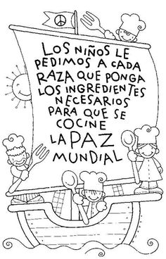 """Esta vela dice """"children will ask each race to put the necessary ingredients to cook world peace"""". Spanish Lessons, Learning Spanish, Cc Cycle 3, Compassion International, Kids Class, Step Kids, Spanish Classroom, Day Book, Teacher Tools"""