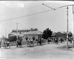 MP 1375. Woodmason's Dairy corner of Malvern and Glenferrie Roads, Malvern; c.1915.