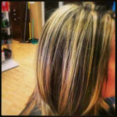 Contrasting highs and lows Hair done by Kate Smi at Mariposa Studio
