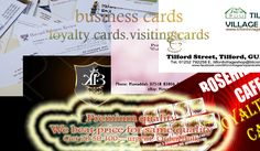 Business Cards Loyalty Cards or Visiting Cards from London Print Shop
