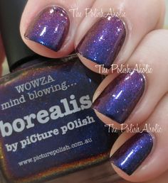The PolishAholic: piCture pOlish Borealis Swatch & Review