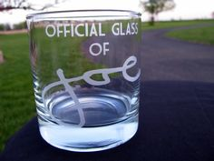 YOUR Signature Etched on a Tumbler Rocks Glass - GREAT Father of the Groom Gift - Father of the Bride Gift. $25.00, via Etsy.