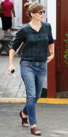 Jennifer Garner's Best Street Style Looks - September 8, 2014 from #InStyle