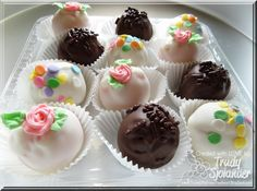 True's Gift's From the Heart: More Sweet Treats to Share - Decorated truffles