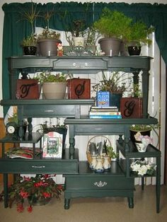 OLD COFFEE TABLES,END TABLES,ECT.  RECYCLED INTO PLANT STAND,OR CAN BE WHAT EVERY YOU WANT.